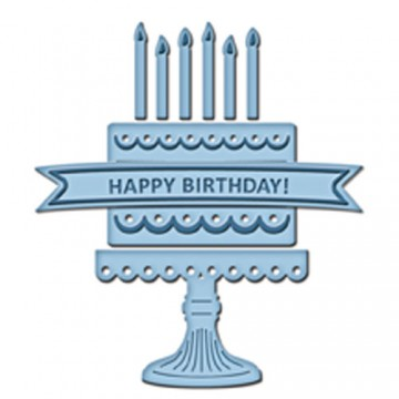 Купить Ножи Birthday Cake, Spellbinders, S2-081