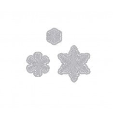 Ножи Paper Layering Snowflakes with Frames, Hero Arts, DI196