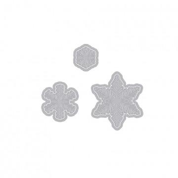 Купить Ножи Paper Layering Snowflakes with Frames, Hero Arts, DI196
