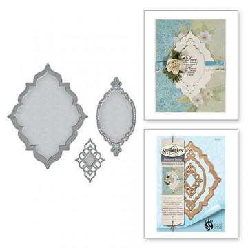 Купить Ножи Renaissance Jubilee Label 56 Decorative Element, Spellbinders, S4-647