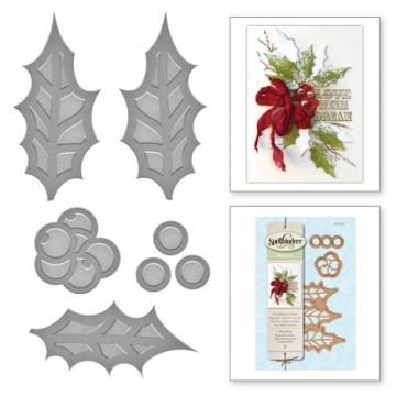 Купить Ножи Holiday Jolly Holly, Spellbinders, S2-237