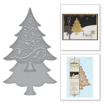 Купить Ножи Holiday Fancy Tree, Spellbinders, S2-236