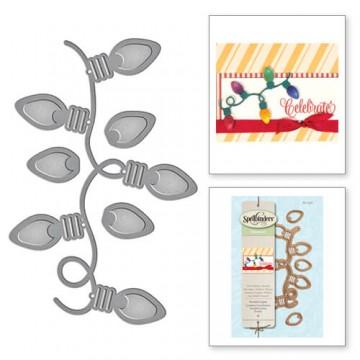 Купить Ножи Holiday Twinkle Lights, Spellbinders, S2-232