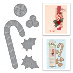 Ножи Holiday Peppermint Stick, Spellbinders, S2-231