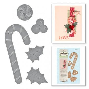 Купить Ножи Holiday Peppermint Stick, Spellbinders, S2-231