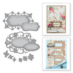 Ножи Botanical Bliss Floral Tags, Spellbinders, S4-652