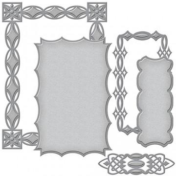 Купить Ножи Renaissance Jeweled Frame, Spellbinders, S6-083