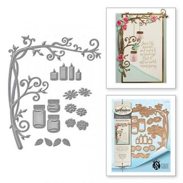 Купить Ножи Botanical Bliss Elegant Branch, Spellbinders, S6-092