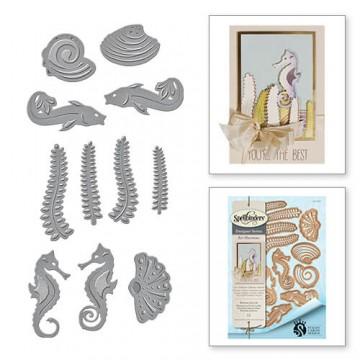 Купить Ножи Nouveau Sea Life, Spellbinders, S4-672