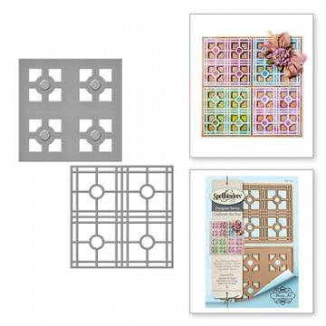 Купить ножи Layered Tile, Spellbinders, S4-715