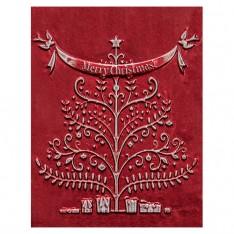 Папка для тиснения Merry Christmas, Spellbinders, E3DS-005