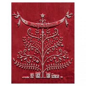 Купить Папка для тиснения Merry Christmas, Spellbinders, E3DS-005