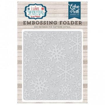 Купить папку для тиснения Snowflake # 2, Echo Park, ILW115032