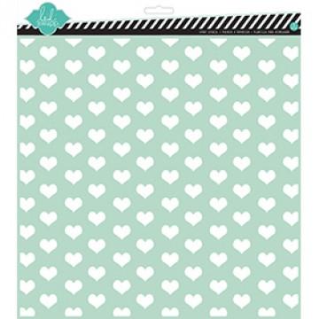 Купить Трафарет Tiny Hearts, 30х30 см, Heidi Swapp, 00829