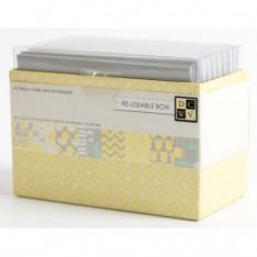 Заготовки для открыток и конверты Neutral Baby, DCWV, CM-002-00031