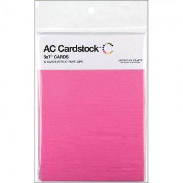 Купить Заготовки для открыток Lipgloss, 13 × 18 см, 12 шт, American Crafts, 71350