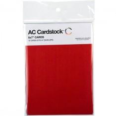 Заготовки для открыток Rouge, 13 × 18 см, 12 шт, American Crafts, 71347