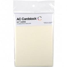 Заготовки для открыток Vanilla, 13 × 18 см, 12 шт, American Crafts, 71345