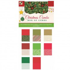 Заготовки для открыток и конверты Christmas Combo, DCWV, CP-002-00926