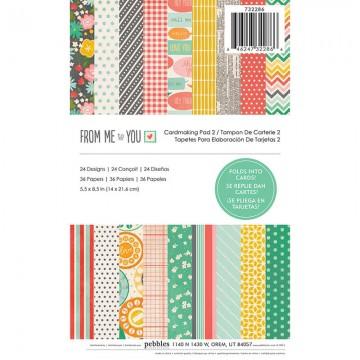 Купить Заготовки для открыток From Me to You, Pebbles, 732286