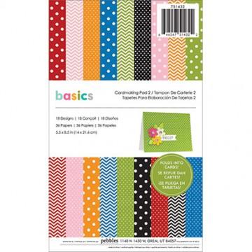 Купить Заготовки для открыток Pebbles Basics # 2, 751432