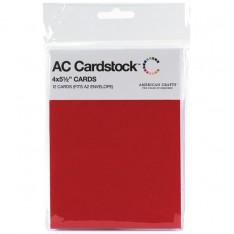 Заготовки для открыток Rouge, 10 × 14 см, 12 шт, American Crafts, 71347