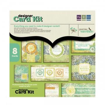 Купить Набор для изготовления открыток Designer Card Kit, Good Day Sunshine, 41995-2