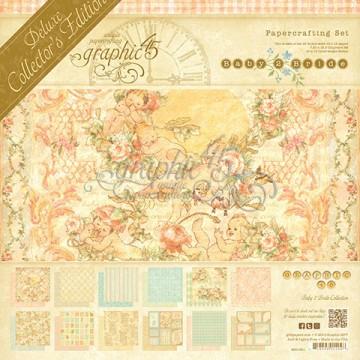 Купить Набор бумаги Baby 2 Bride – Deluxe Collector's Edition, Graphic 45, 4501001