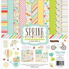 Набор бумаги Spring, 30х30см, Echo Park, SP101016