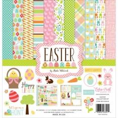 Набор бумаги Easter, 30х30см, Echo Park, EA100016