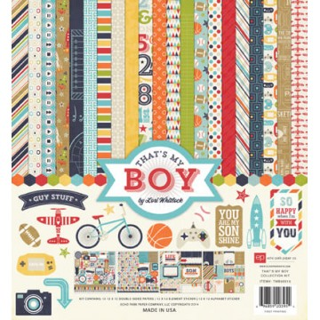 Купить набор бумаги That's My Boy, 30х30 см, Echo Park, TMB60016