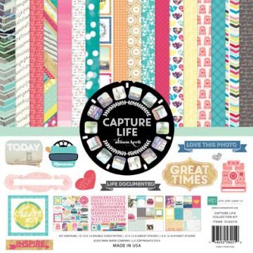 Купить набор бумаги Capture Life, 30х30 см, Echo Park, CL64016