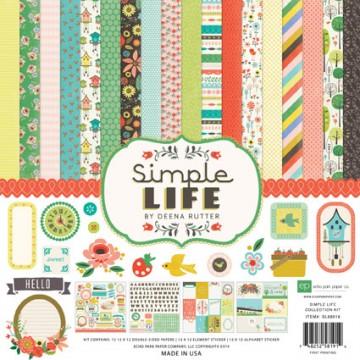 Купить набор бумаги Simple Life, 30х30 см, Echo Park, SL68016