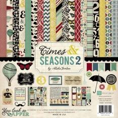 Набор бумаги Times & Seasons Two, 30х30 см, Echo Park, TST57016