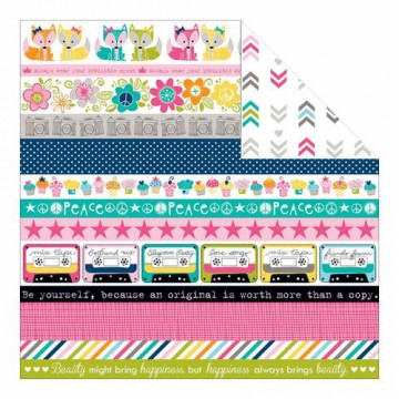 Купить Лист бумаги Borders, Molly, Bella BLVD, 698