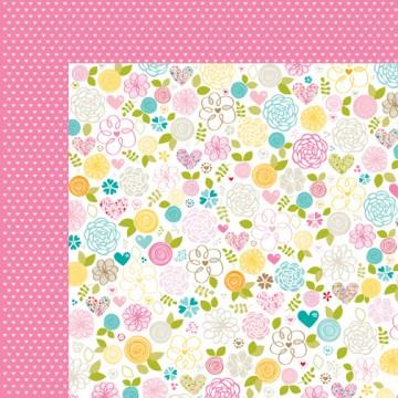 Купить Лист бумаги Esther Fleming Floral, Love & Marriage, Bella BLVD, 577