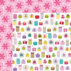 Лист бумаги Pretty as a Present, Birthday Girl, Bella BLVD, 451