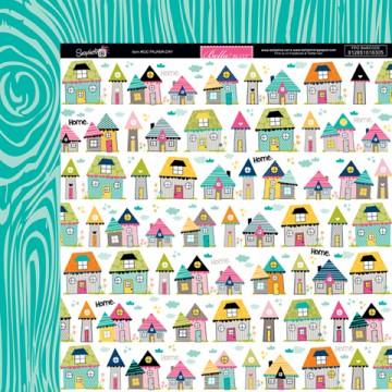 Купить Лист бумаги Pajama Day, Snapshots, Bella BLVD, 630