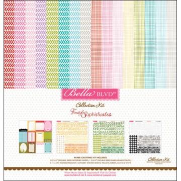 Купить Набор бумаги и наклеек Freestyle, Bella BLVD, 30×30 см, 626