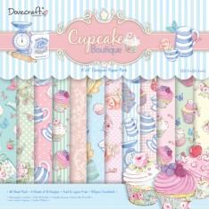Набор бумаги Cupcake Boutique 20×20 см, Dovecraft, DCDP133