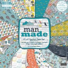 Набор бумаги Man Made, First Edition, 15×15 см, FEPAD071
