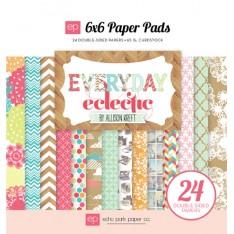 Набор бумаги Everyday Eclectic, Echo Park, 15х15 см, 24 ар, EE33023
