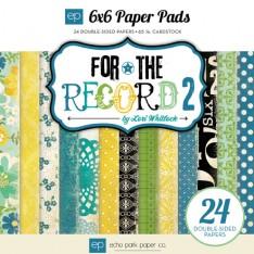 Набор бумаги For the Record 2 Documented, 15х15 см, Echo Park, FRD35023