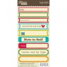 Наклейки Sweet & Sour - Soup Labels, Jillibean Soup, JBE8832