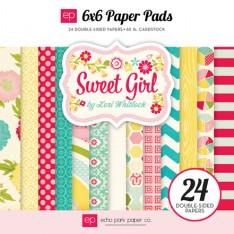 Набор бумаги Sweet Girl, 15х15 см, Echo Park, SWG43023