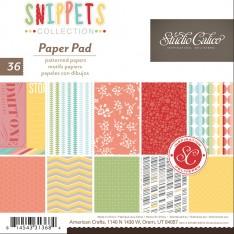 Набор бумаги Snippets, 15 × 15 см, Studio Calico, 331368