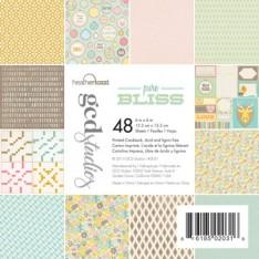 Набор картона Pure Bliss Heather Tozzi, 15х15 см, GCD Studios, 2031