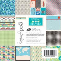 Набор картона Special Delivery Heidi Sonboul, 15х15 см, GCD Studios, 2050