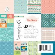Набор картона Sunkissed Heidi Sonboul, 15х15 см, GCD Studios, 2069