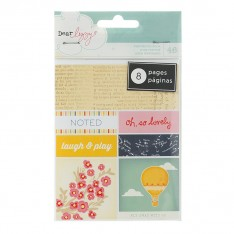 Книга наклеек Bits Perforated Book - Dear Lizzy Lucky Charm, American Crafts, 85657